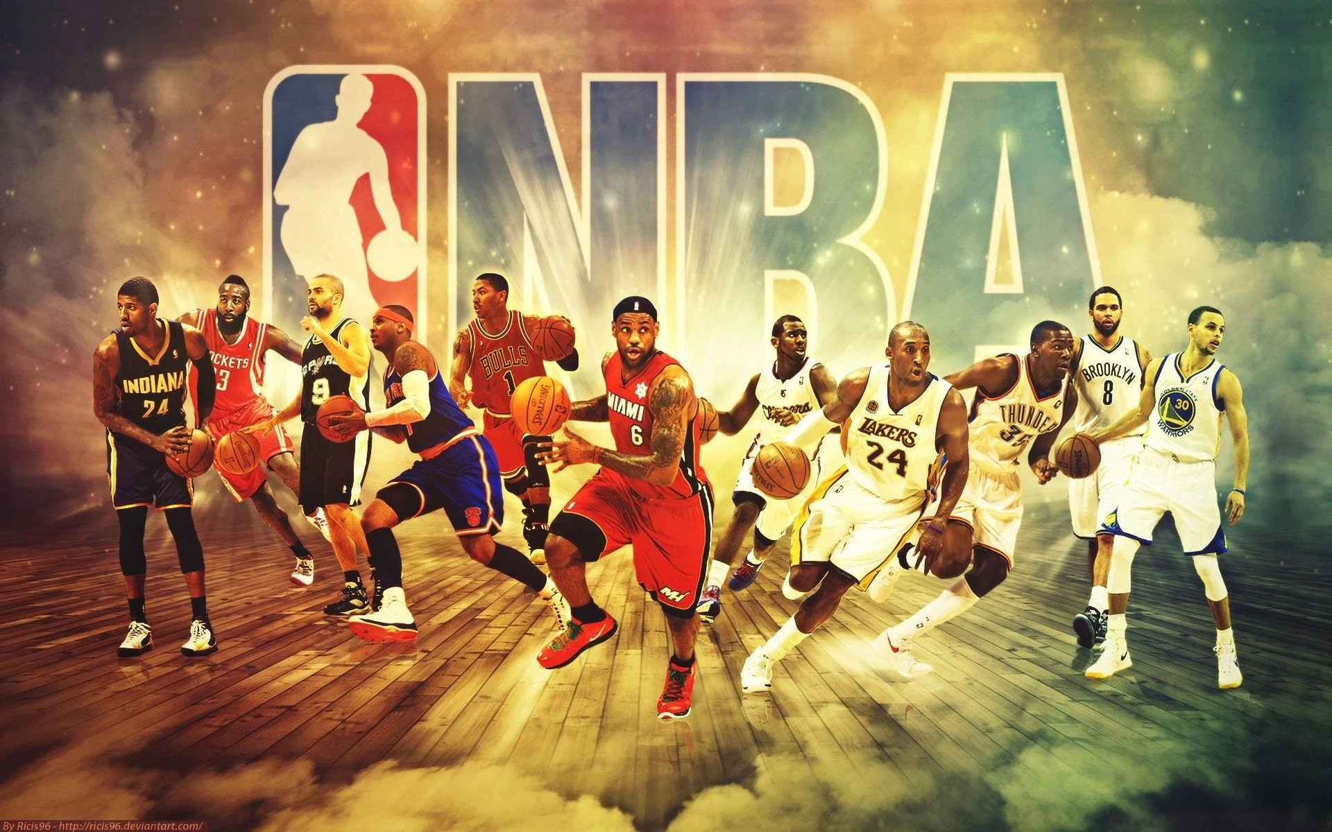 These are the greatest basketball players of all time. Cool Nba Players Wallpapers Top Free Cool Nba Players Backgrounds Wallpaperaccess