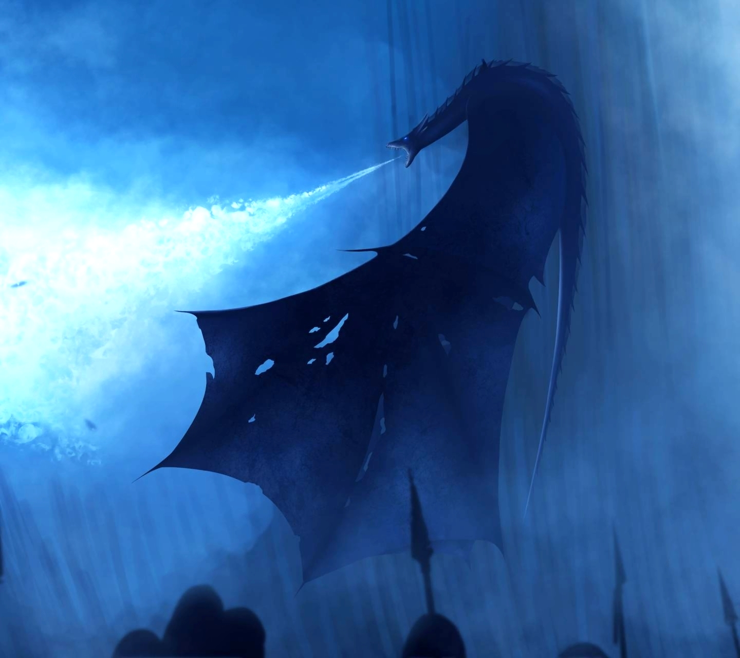 Night King With Dragon Wallpaper
