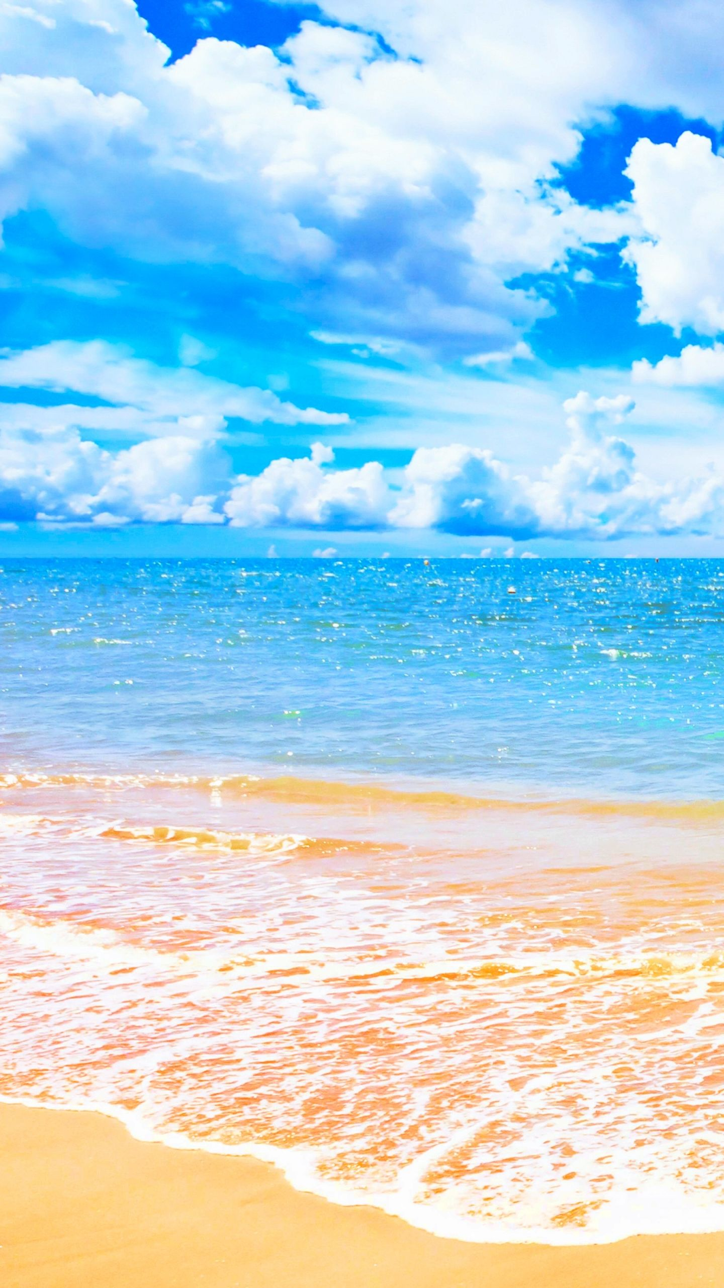 Blue Beach Wallpaper Gurukulindia