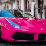 Pink Ferrari Wallpapers Top Free Pink Ferrari Backgrounds Wallpaperaccess