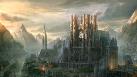 Fantasy City Wallpapers Top Free Fantasy City Backgrounds WallpaperAccess
