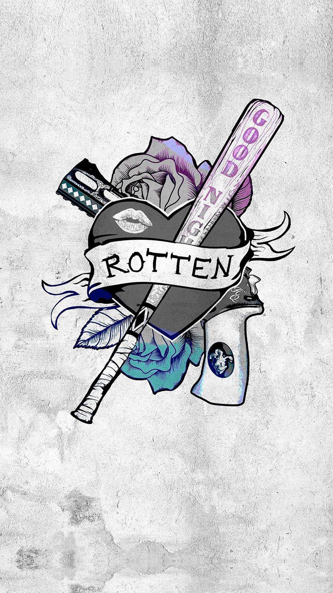 Harley Quinn Logo Wallpaper : harley, quinn, wallpaper, Harley, Quinn, Wallpapers, Backgrounds, WallpaperAccess