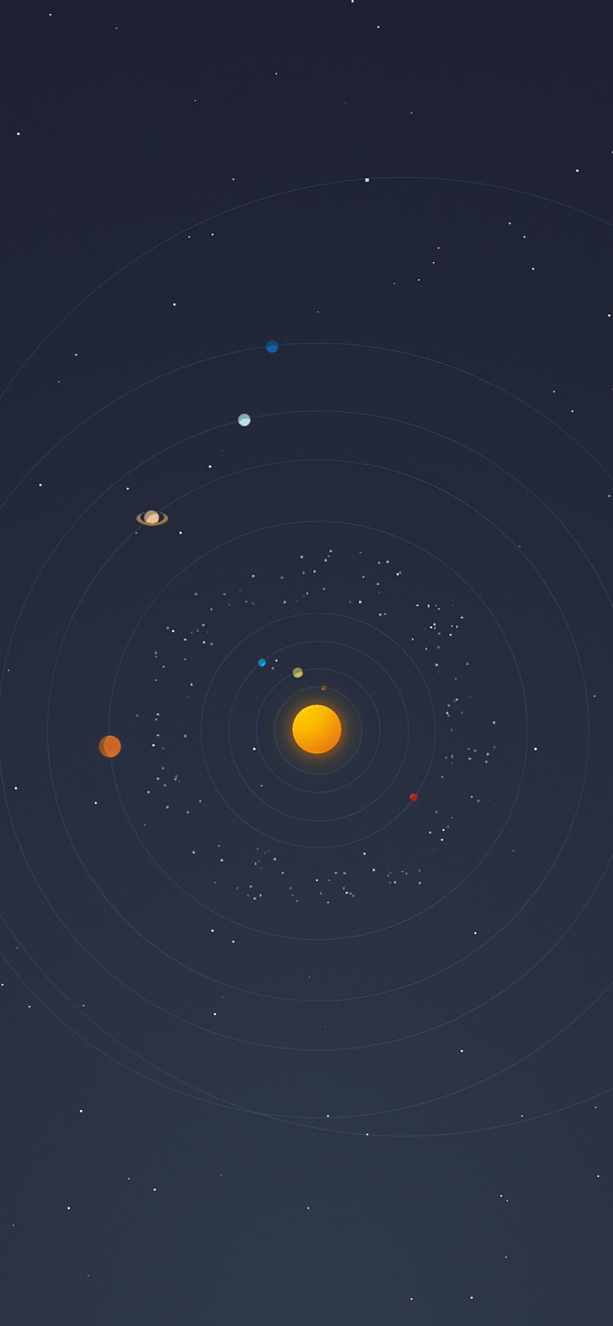 Space Minimalist Wallpaper : space, minimalist, wallpaper, Minimalism, Universe, Wallpapers, Backgrounds, WallpaperAccess