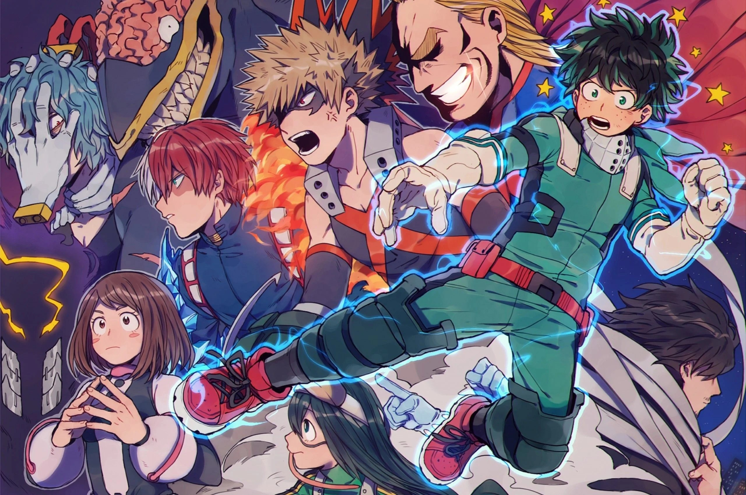 2800+ my hero academia hd wallpapers background images › on roundup of the best education on www.alphacoders.com. My Hero Academia Aesthetic Wallpapers - Top Free My Hero ...