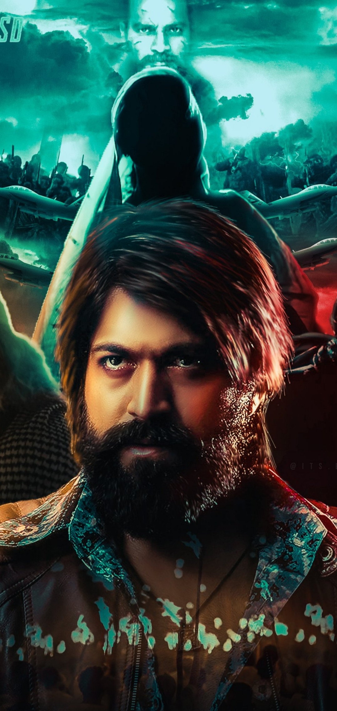 Rocky Kgf Wallpapers Wallpaper Cave ...
