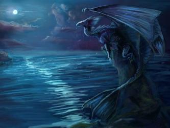Moon Dragon Dragon Wallpaper Iphone