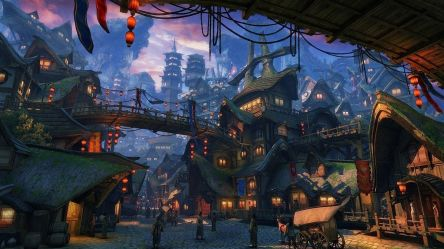 Fantasy Village Wallpapers Top Free Fantasy Village Backgrounds WallpaperAccess