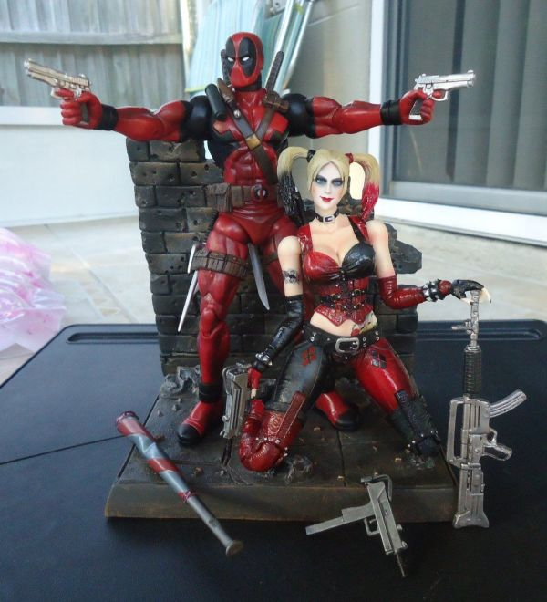 20 Lady Deadpool And Harley Quinn Pictures And Ideas On Meta Networks