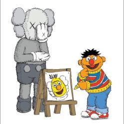 Elmo Kaws Wallpapers Top Free Elmo Kaws Backgrounds WallpaperAccess