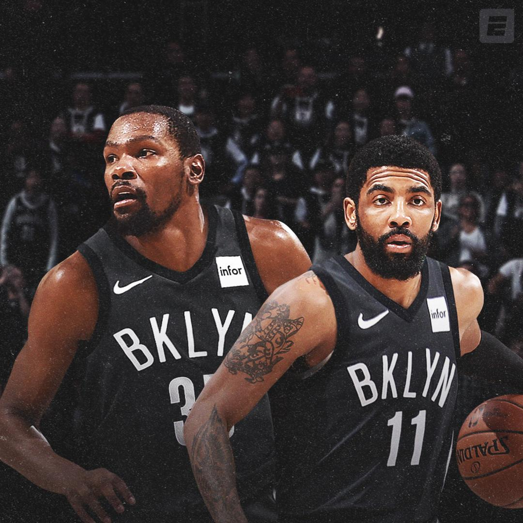 kevin durant kyrie irving brooklyn