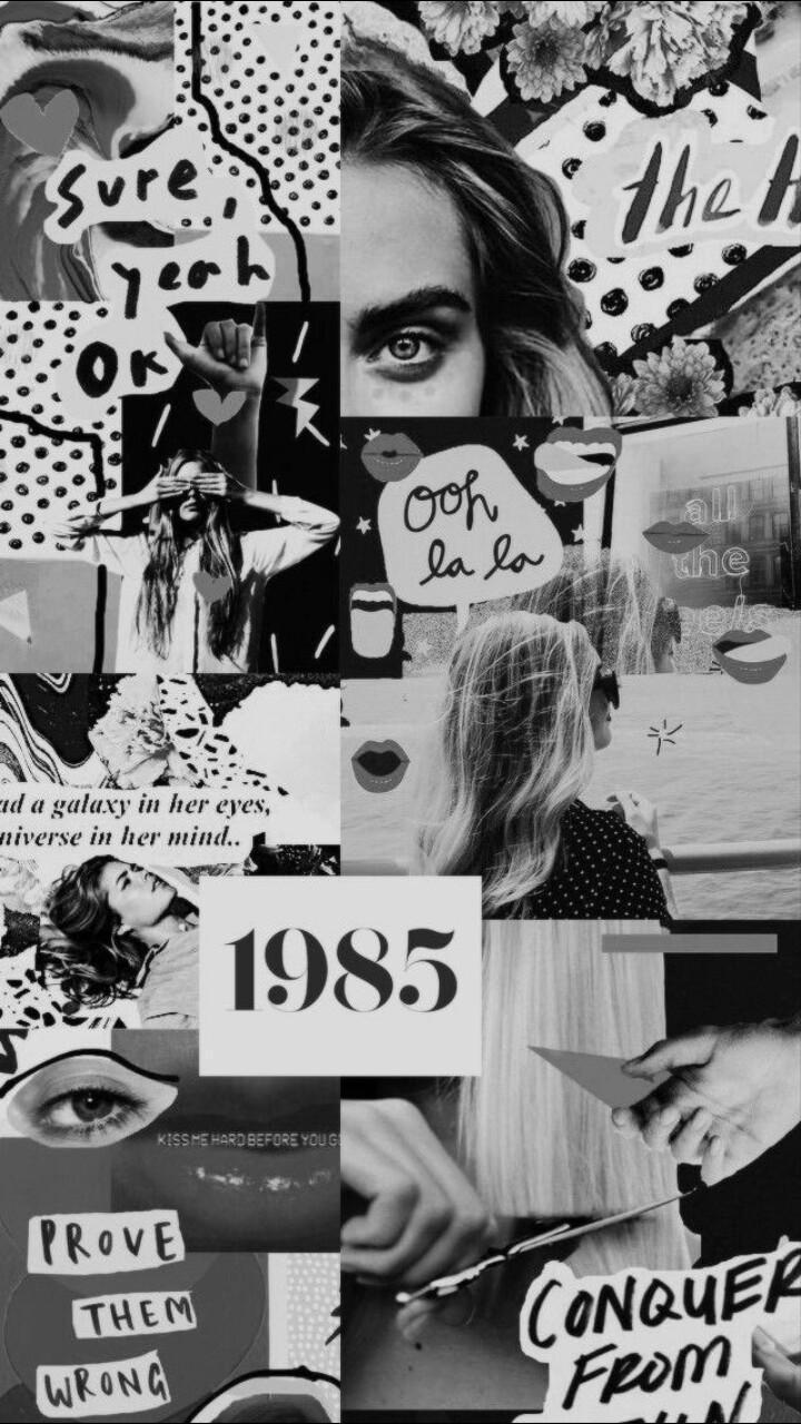 Black Collage Wallpaper : black, collage, wallpaper, Black, Collage, Wallpapers, Backgrounds, WallpaperAccess