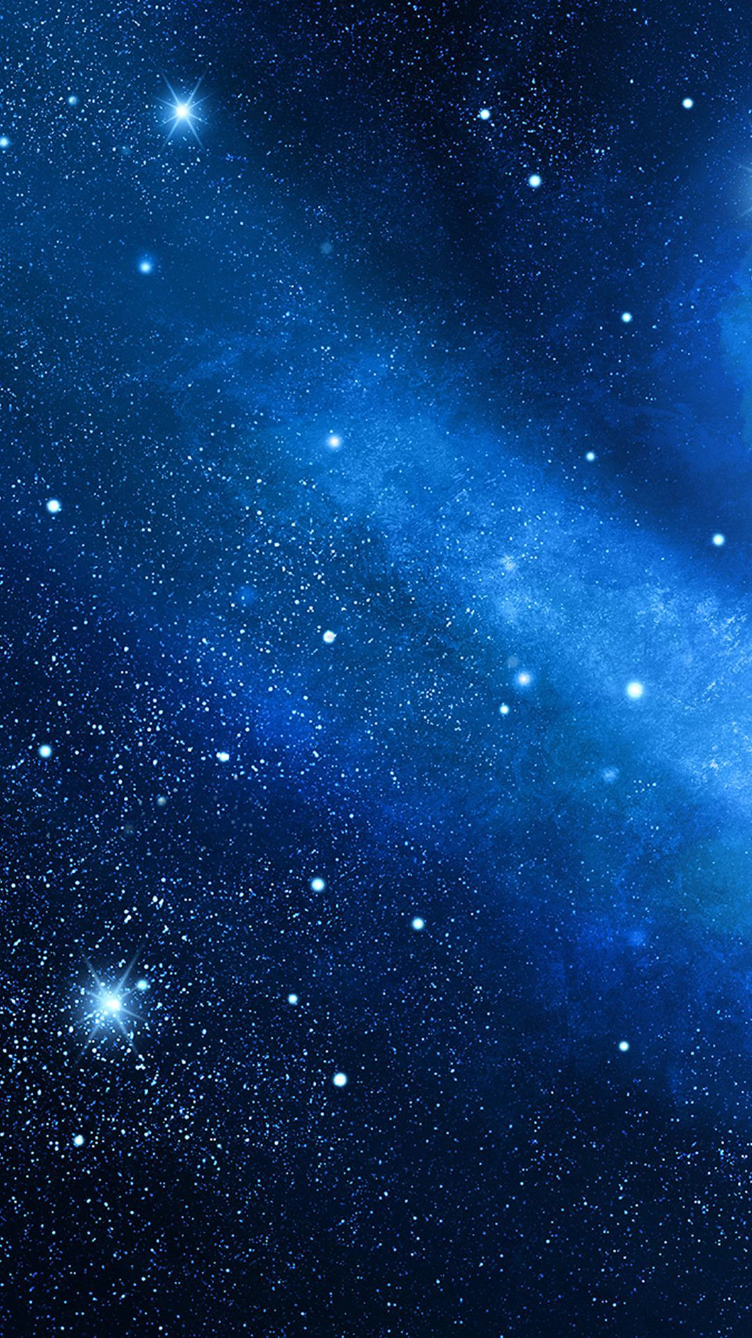 Blue Galaxy Background : galaxy, background, Galaxy, IPhone, Wallpapers, Backgrounds, WallpaperAccess