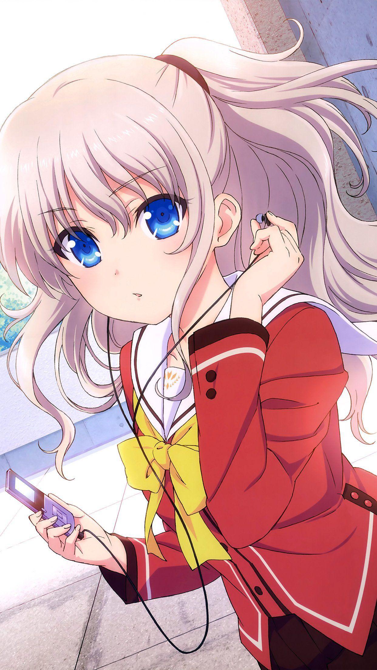 Cute Anime Girl Wallpaper Iphone : anime, wallpaper, iphone, Anime, IPhone, Wallpapers, Backgrounds, WallpaperAccess