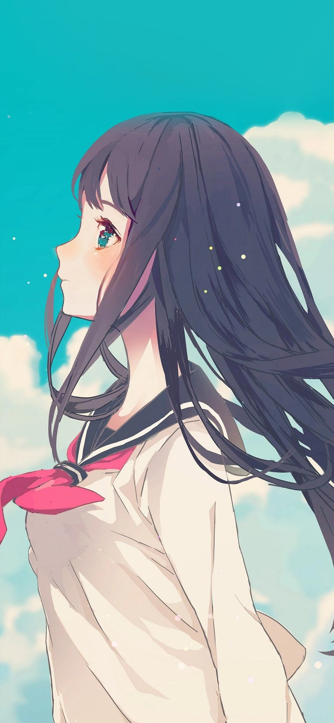 Cute Anime Girl Wallpaper Iphone : anime, wallpaper, iphone, Beautiful, Anime, IPhone, Wallpapers, Backgrounds, WallpaperAccess