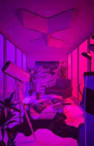 neon aesthetic purple wallpapers pink laughton kim background theme backgrounds night artist bedroom retro wallpaperaccess dark desktop mauve evanescence rooms