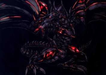 dragon eyes darkness ultimate demon anime background zerochan fanart yu gi oh deviantart wallpapers backgrounds groups