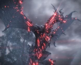 dragon eyes skyrim darkness wallpapers mods nexus dark alduin community wallpaperaccess backgrounds