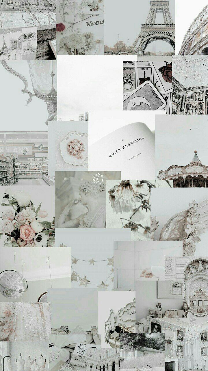 Aesthetic Laptop Backgrounds Collage : aesthetic, laptop, backgrounds, collage, White, Aesthetic, Collage, Wallpapers, Backgrounds, WallpaperAccess