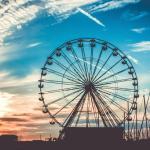 Ferris Wheel Wallpapers Top Free Ferris Wheel Backgrounds Wallpaperaccess
