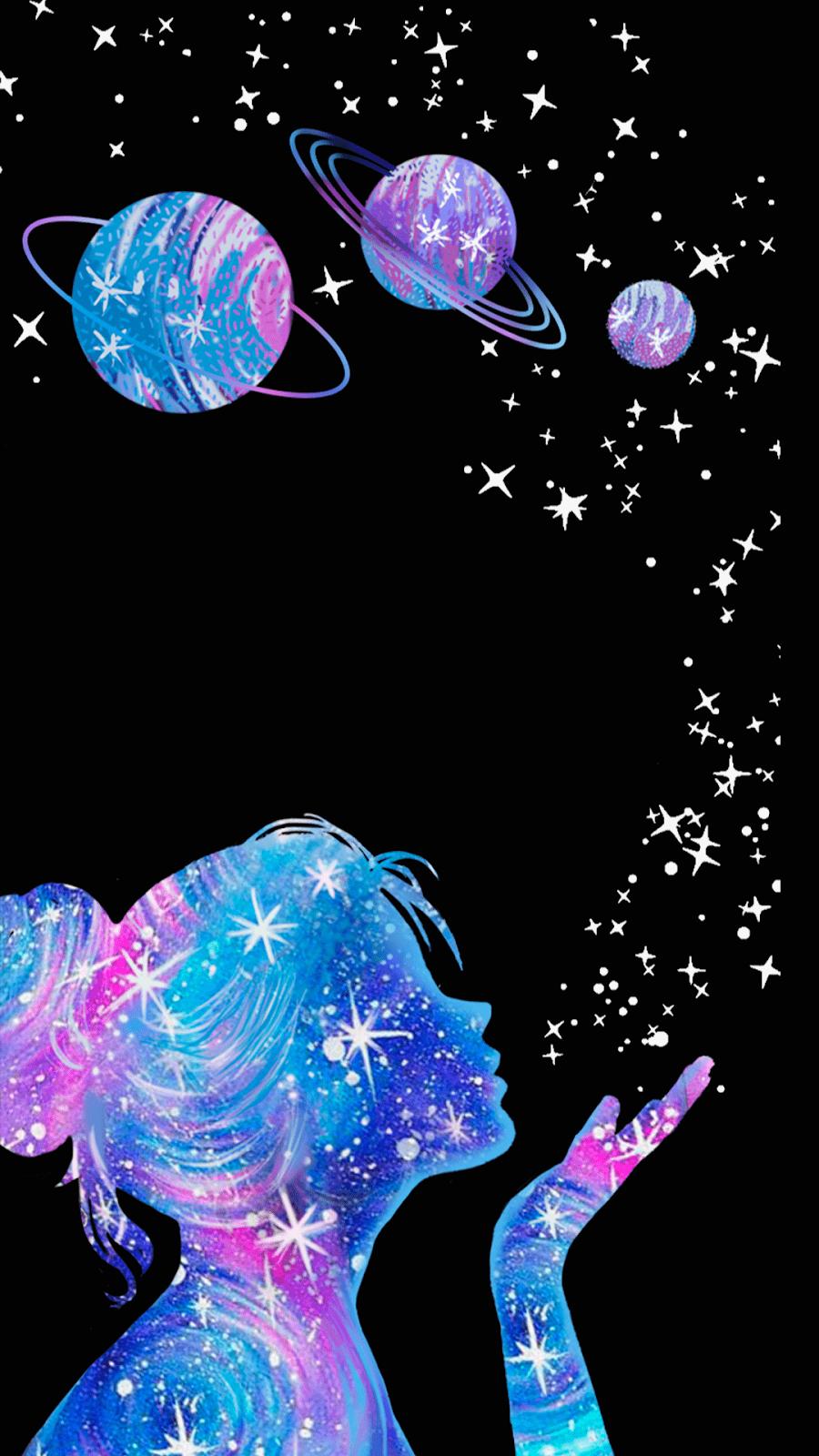 Glitter Girly Galaxy Wallpaper : glitter, girly, galaxy, wallpaper, Glitter, Galaxy, Wallpapers, Backgrounds, WallpaperAccess