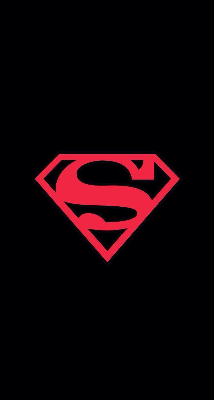 superhero logo iphone wallpapers