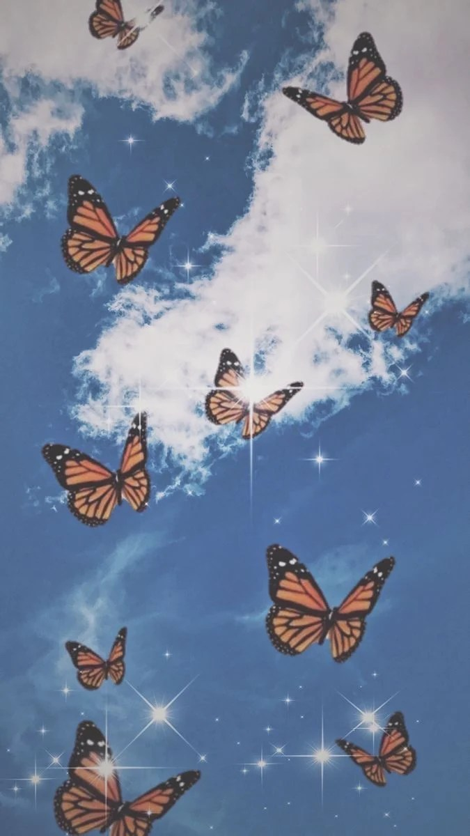 Aesthetic Butterfly Wallpaper Laptop : aesthetic, butterfly, wallpaper, laptop, Butterfly, Aesthetic, Wallpapers, Backgrounds, WallpaperAccess