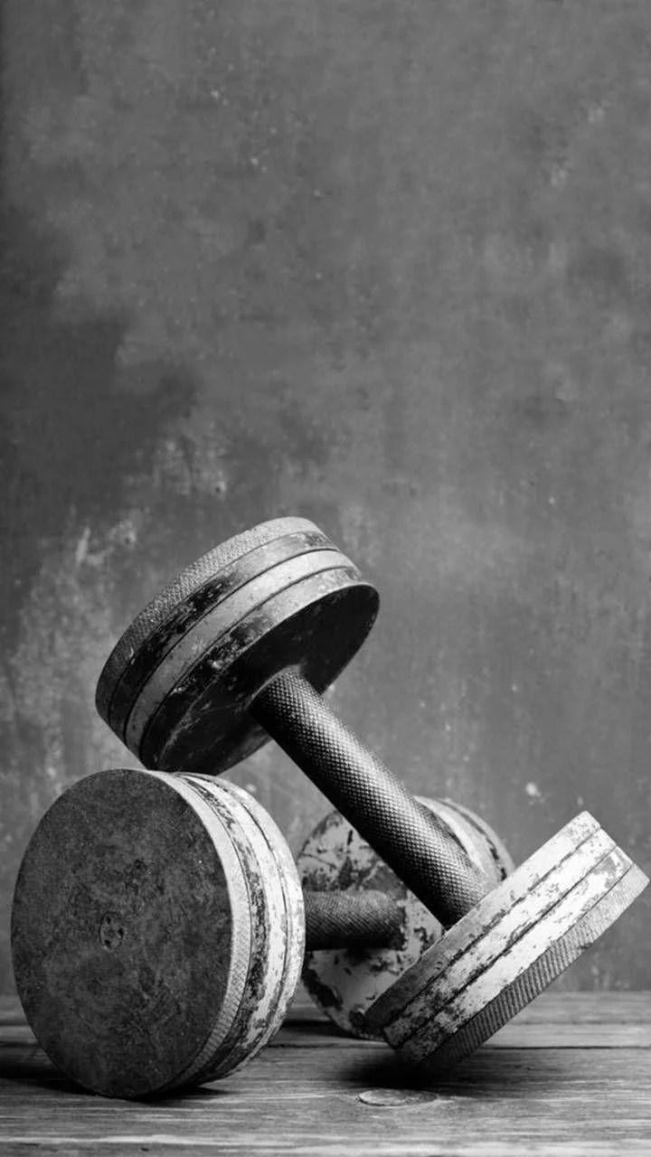 Weights Wallpaper : weights, wallpaper, Dumbbell, IPhone, Wallpapers, Backgrounds, WallpaperAccess