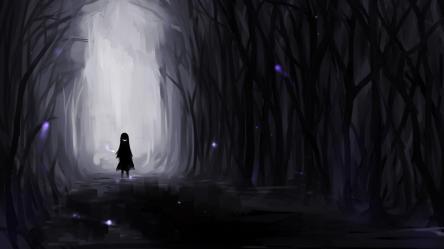 Dark Anime Aesthetic Desktop Wallpapers Top Free Dark Anime Aesthetic Desktop Backgrounds WallpaperAccess