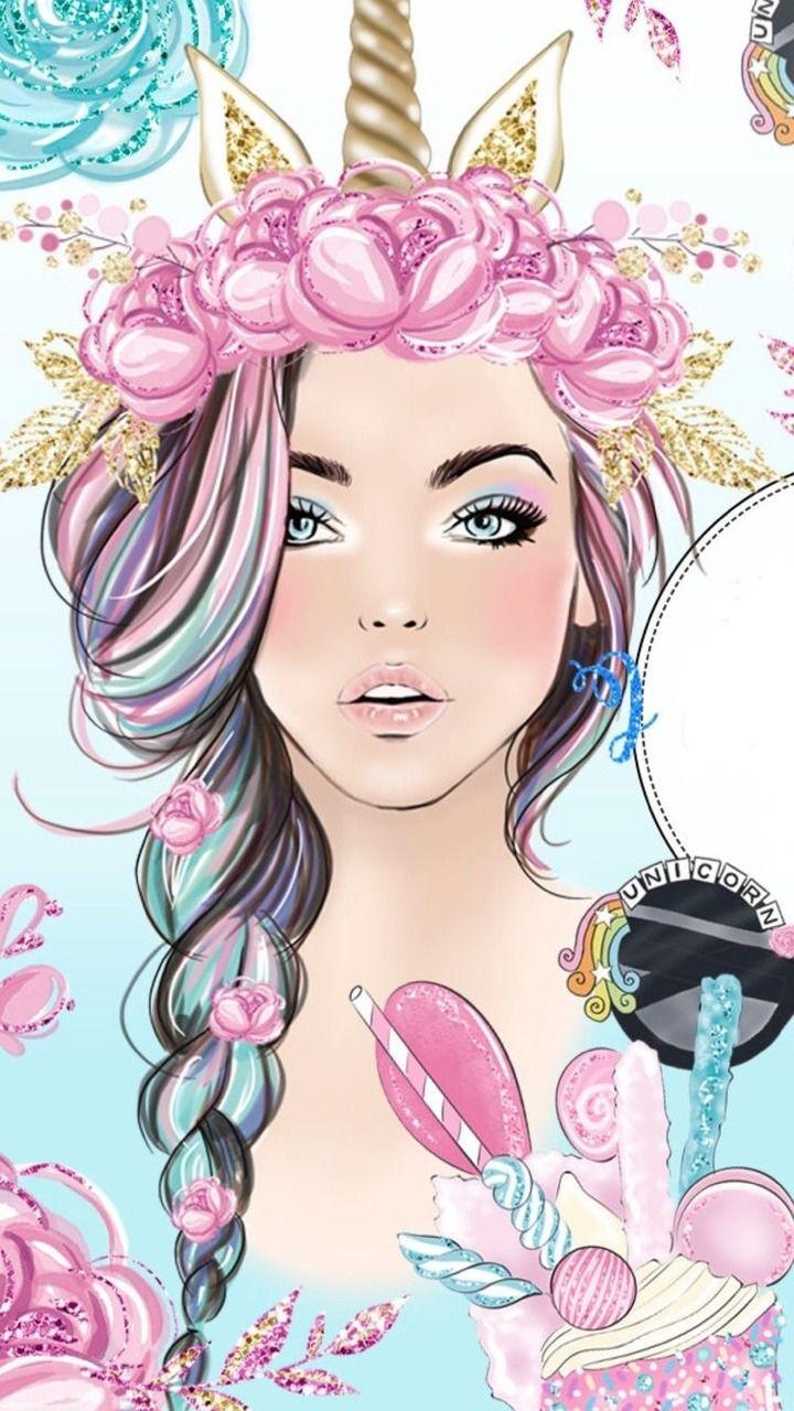 Unicorn Girl Wallpaper : unicorn, wallpaper, Unicorn, Wallpapers, Backgrounds, WallpaperAccess