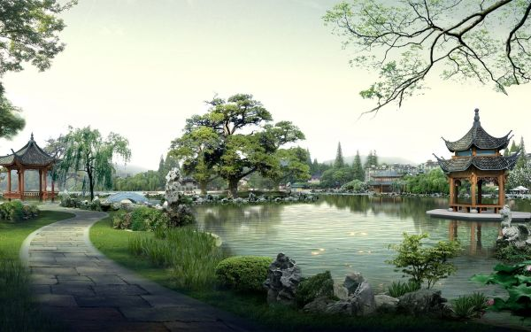 china landscape wallpapers - top