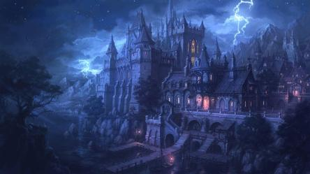 Magical Castle Wallpapers Top Free Magical Castle Backgrounds WallpaperAccess