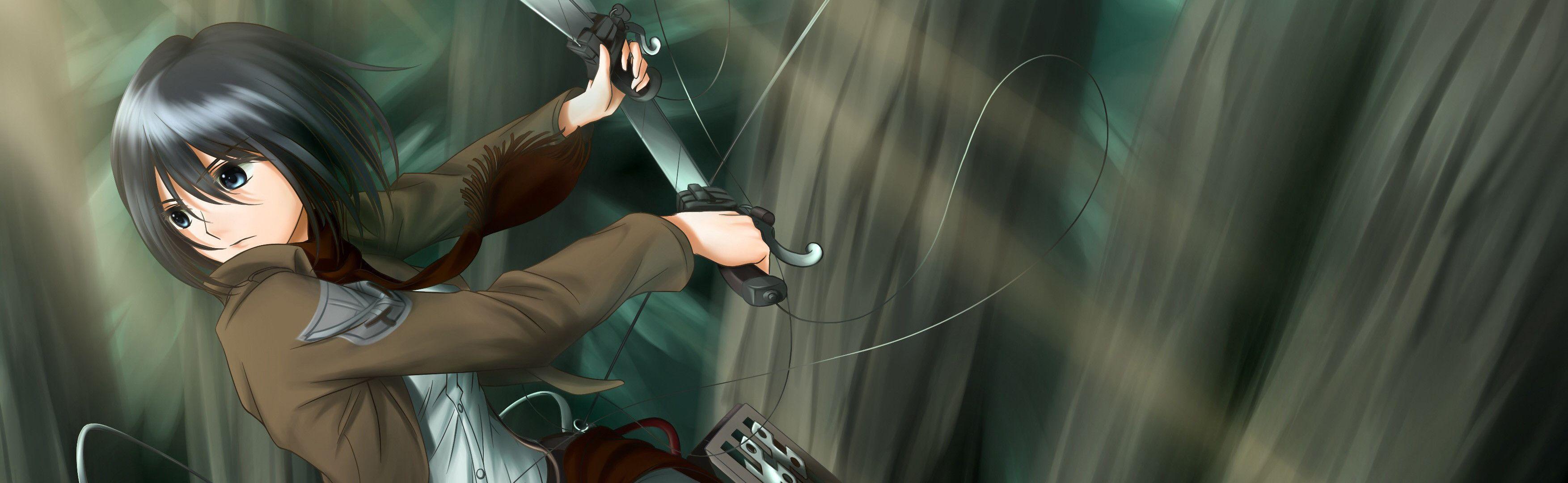 Dual monitor wallpaper 4k anime. Attack On Titan Dual Monitor Wallpapers - Top Free Attack ...