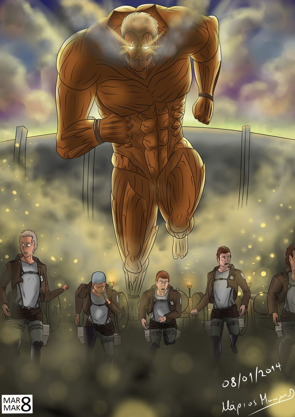 Download attack on titan 2 for windows & read reviews. Top Attack On Titan Armored Titan Wallpaper - positive quotes