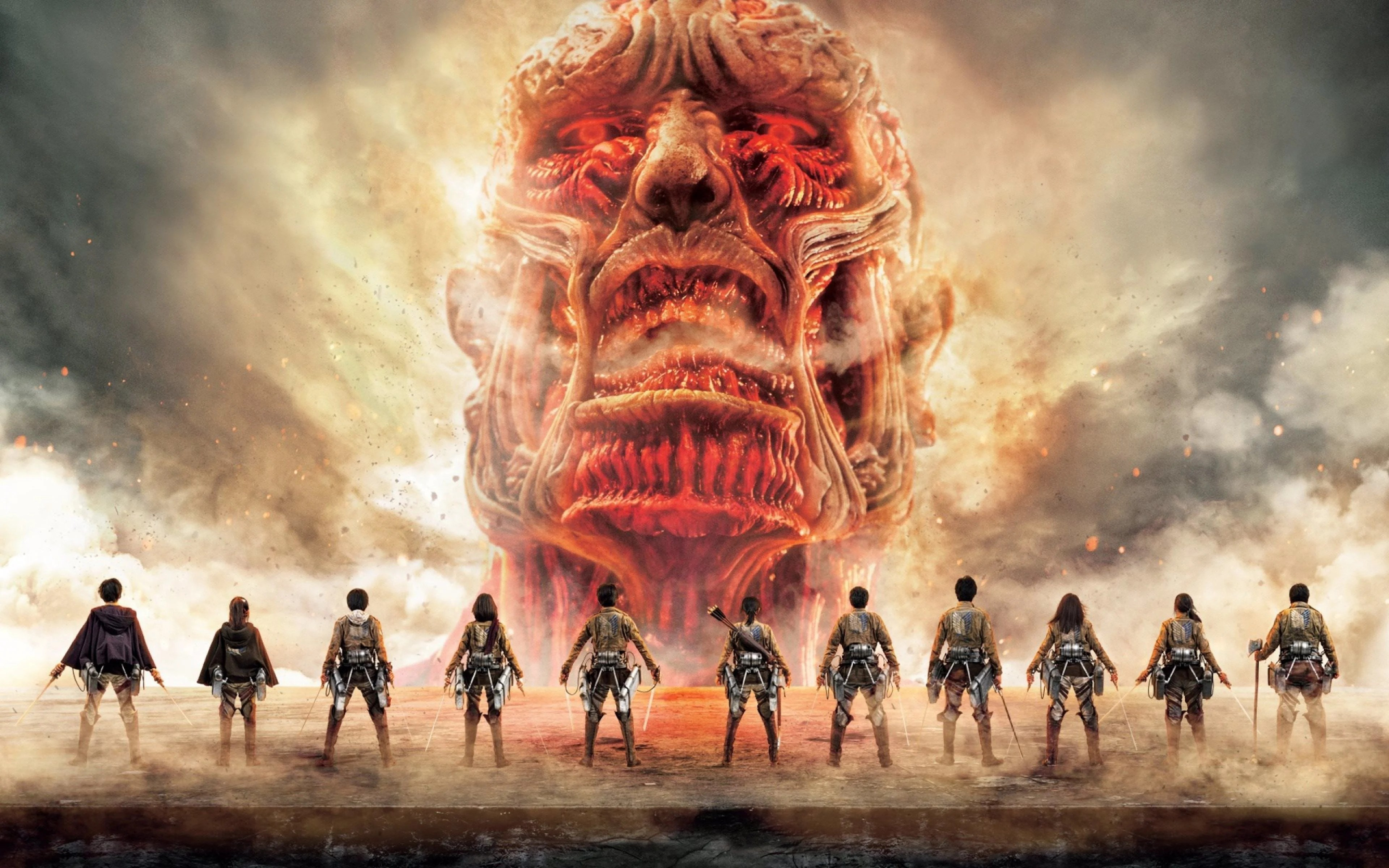 1366x768 anime attack on titan + 3d digital clock wallpaper engine. Attack On Titan Wallpapers - Top Free Attack On Titan ...