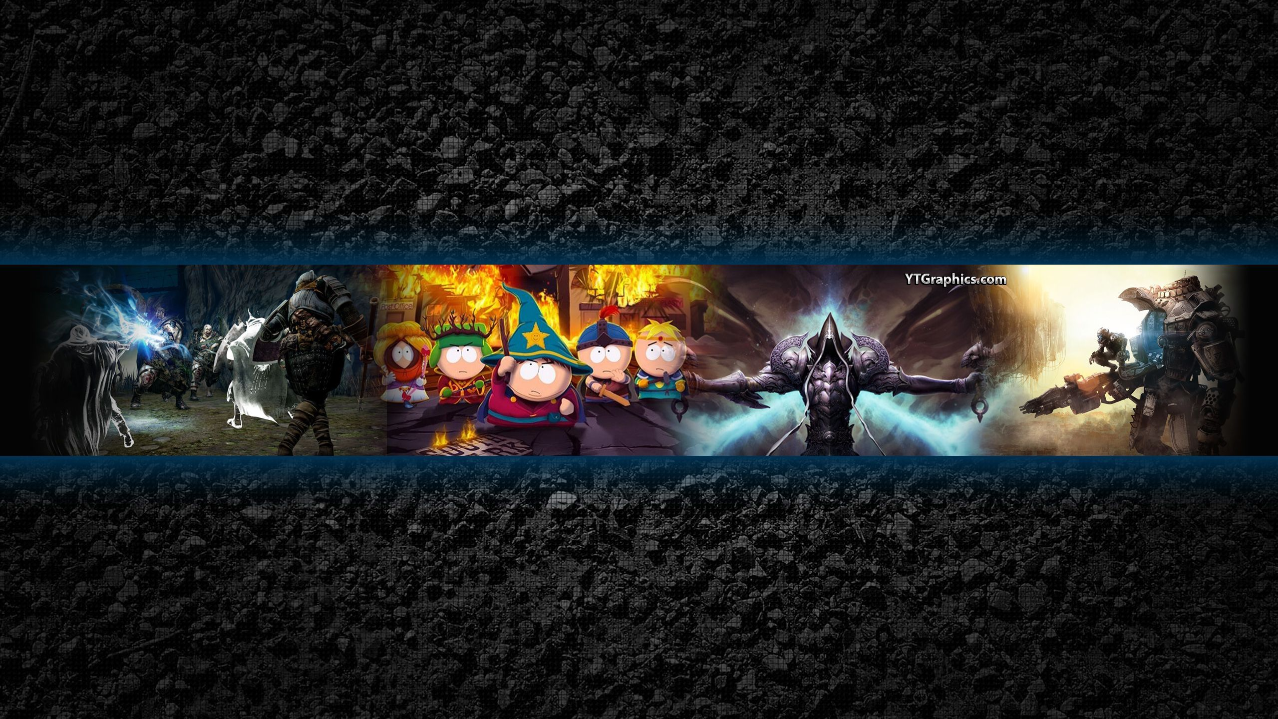 Minimum image safe area for text and logos: Youtube Gaming Banner Background Download