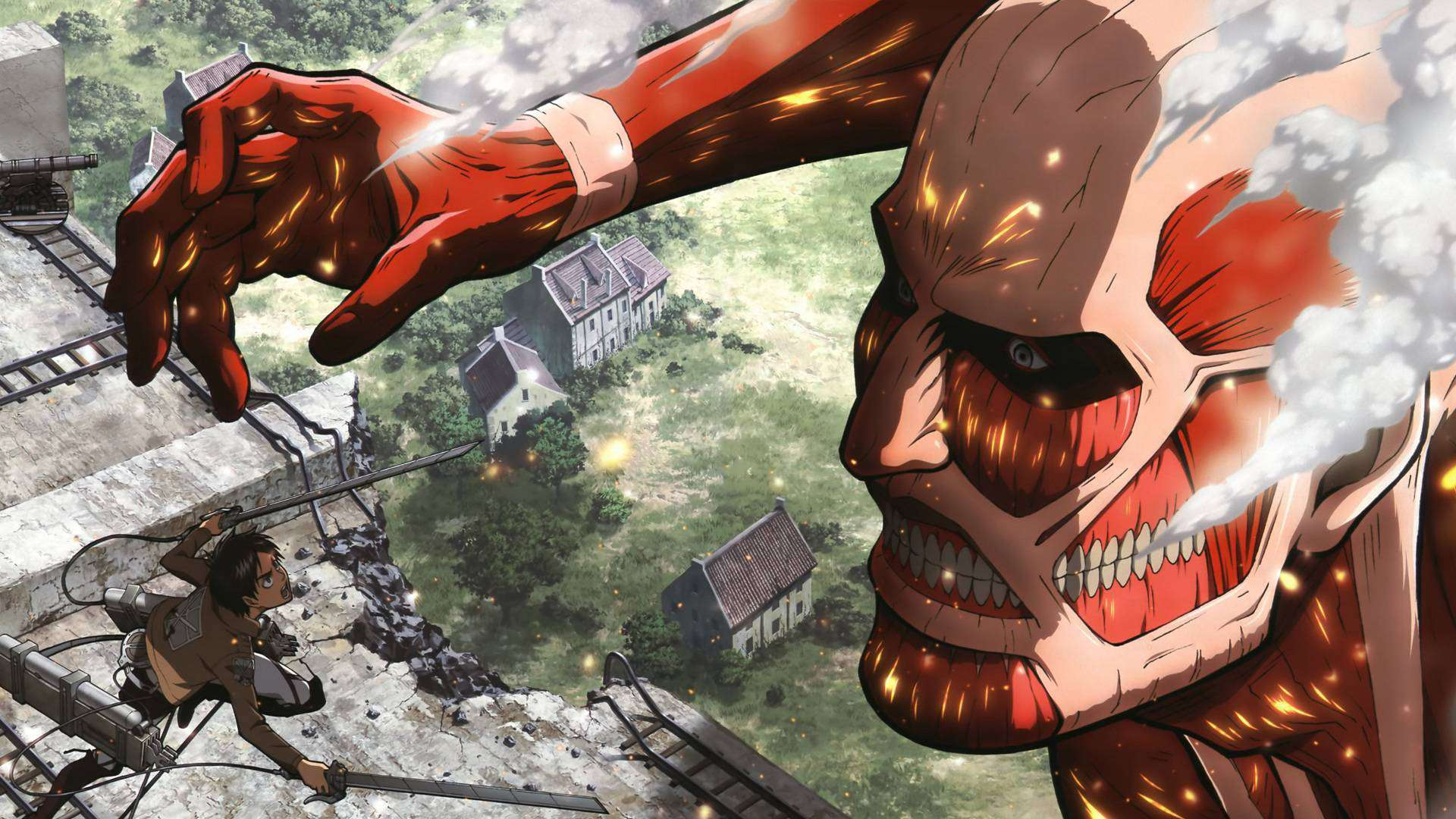 Who are the best characters in the popular japanese attack on titan anime series? Attack On Titan Season 4 Wallpapers - Top Free Attack On ...