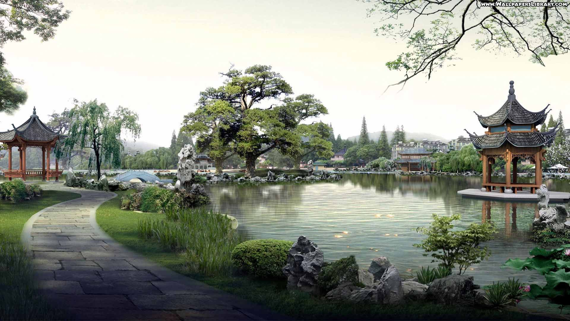 42 best free japanese village wallpapers - wallpaperaccess