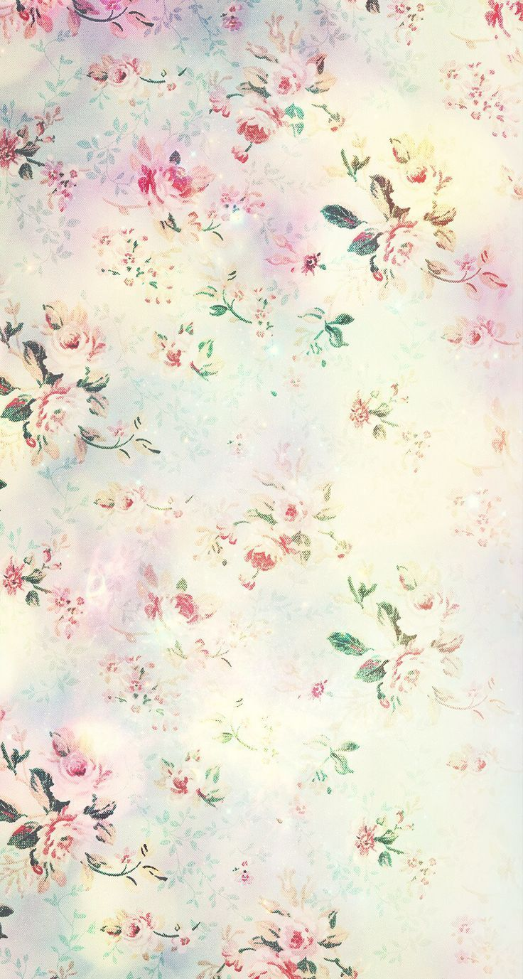 Pretty Floral Iphone Background