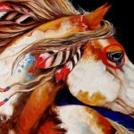 Horse Native American Art Wallpapers Top Free Horse Native American Art Backgrounds Wallpaperaccess