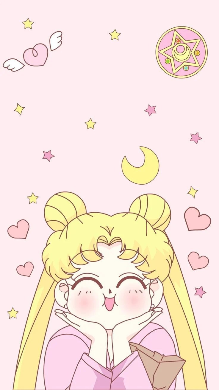 Pink Sailor Moon Wallpaper : sailor, wallpaper, Sailor, Wallpapers, Backgrounds, WallpaperAccess