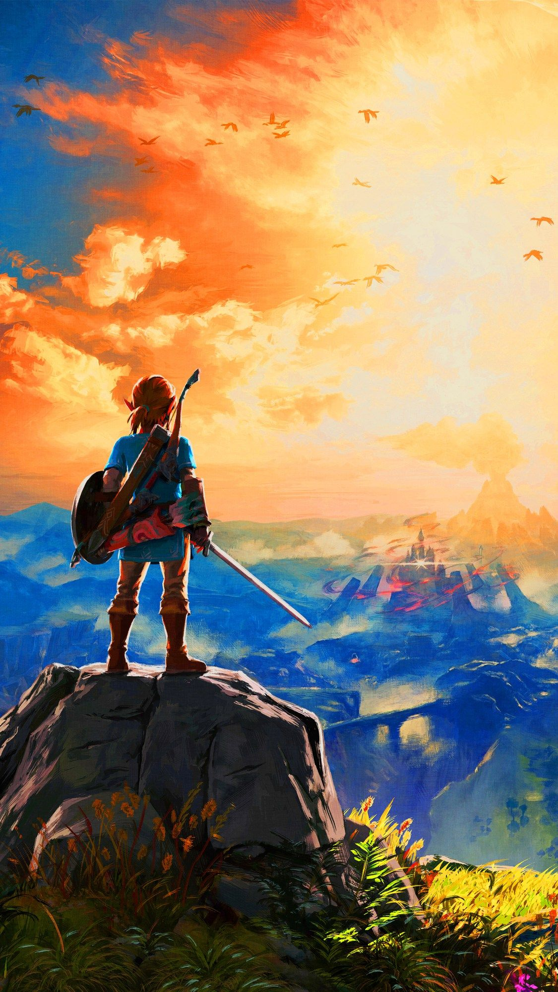Botw Wallpaper Phone : wallpaper, phone, Zelda, Phone, Wallpapers, Backgrounds, WallpaperAccess