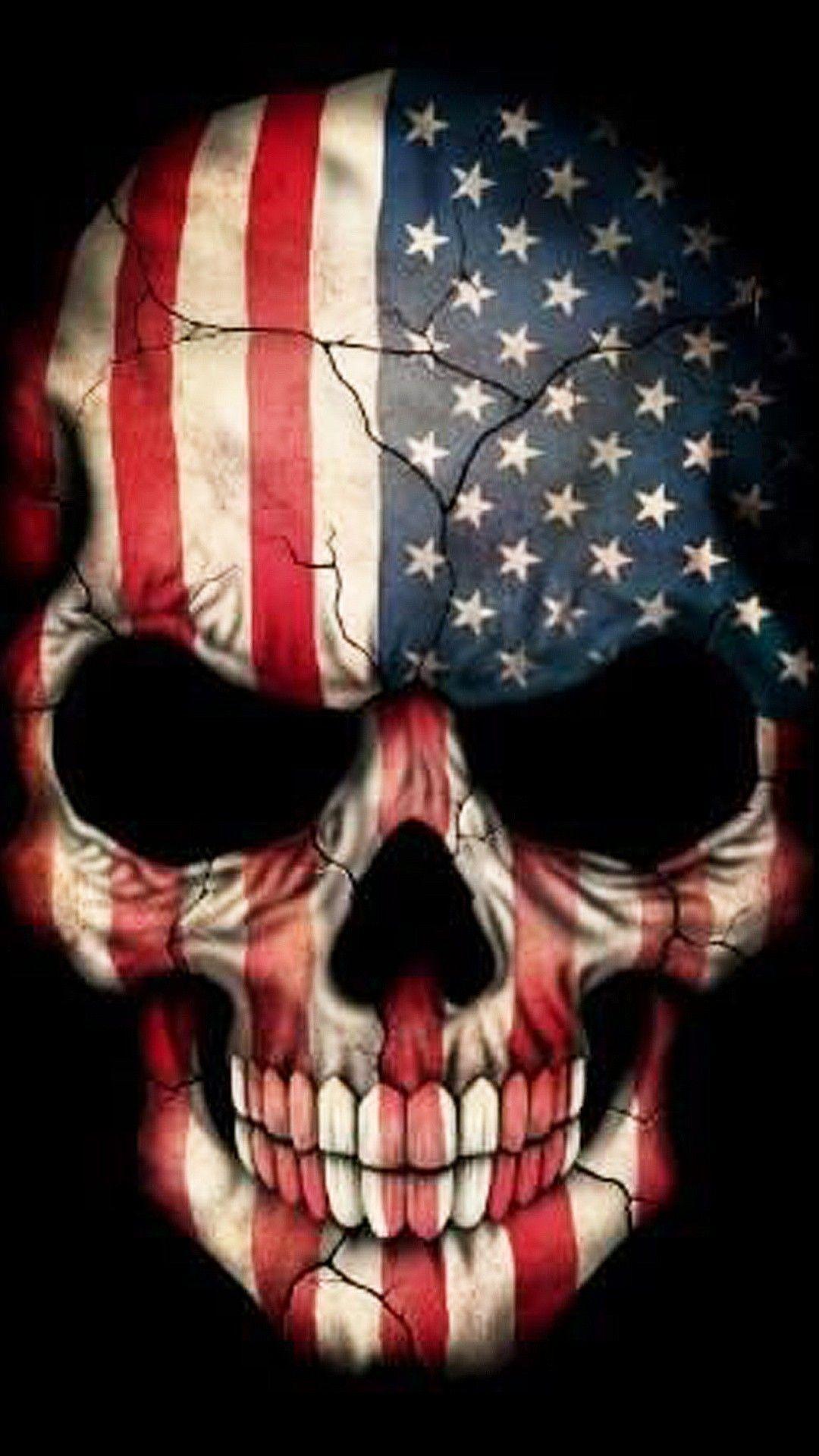 American Flag Skull Wallpaper : american, skull, wallpaper, Patriotic, Skull, Wallpapers, Backgrounds, WallpaperAccess