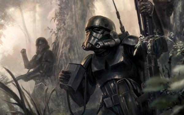 Star Wars Art Wallpapers - Top Free Backgrounds Wallpaperaccess