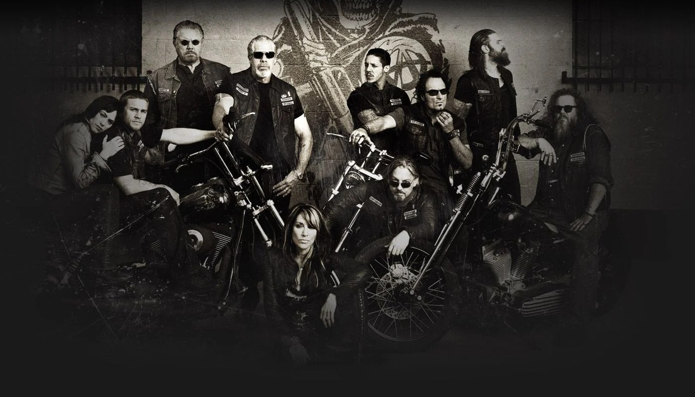 sons of anarchy cast wallpapers top