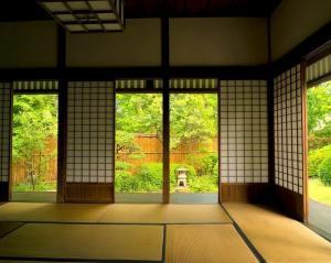 dojo japanese indoor japan tea wallpapers background backgrounds desktop tatami garden houses ceremony wallpaperaccess architecture tag