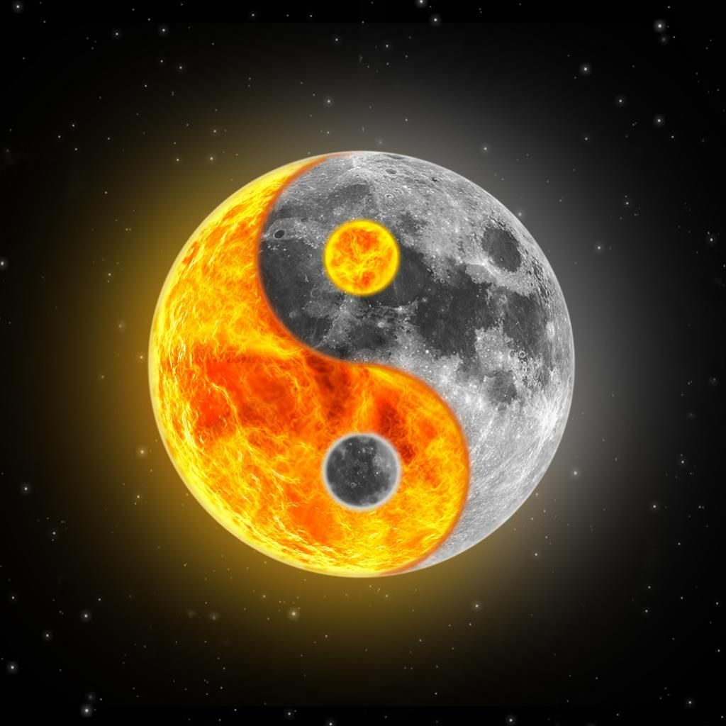 Sun And Moon Wallpapers Top Free Sun And Moon Backgrounds Wallpaperaccess
