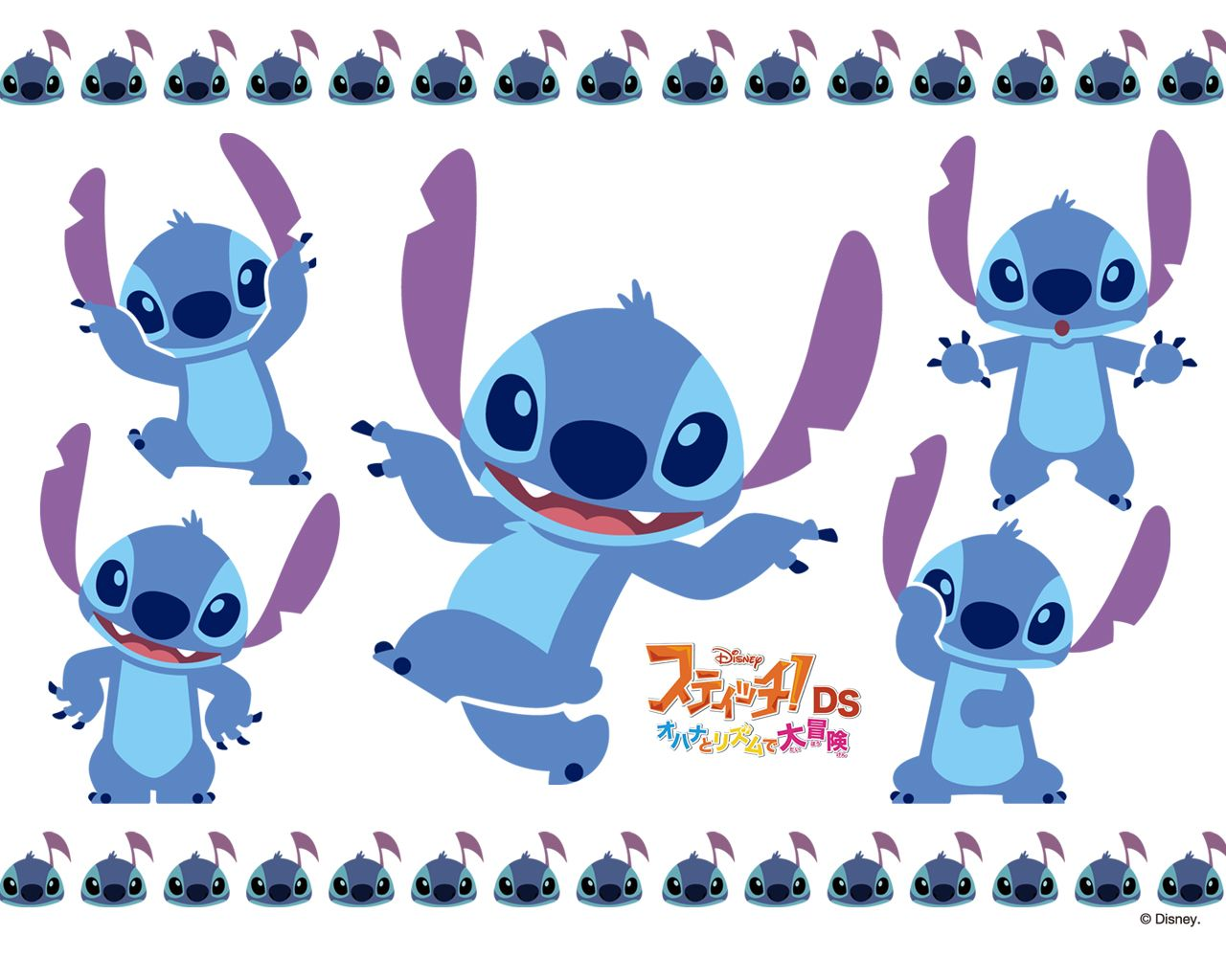 Cute Stitch Wallpapers - Top Free Cute Stitch Backgrounds - WallpaperAccess