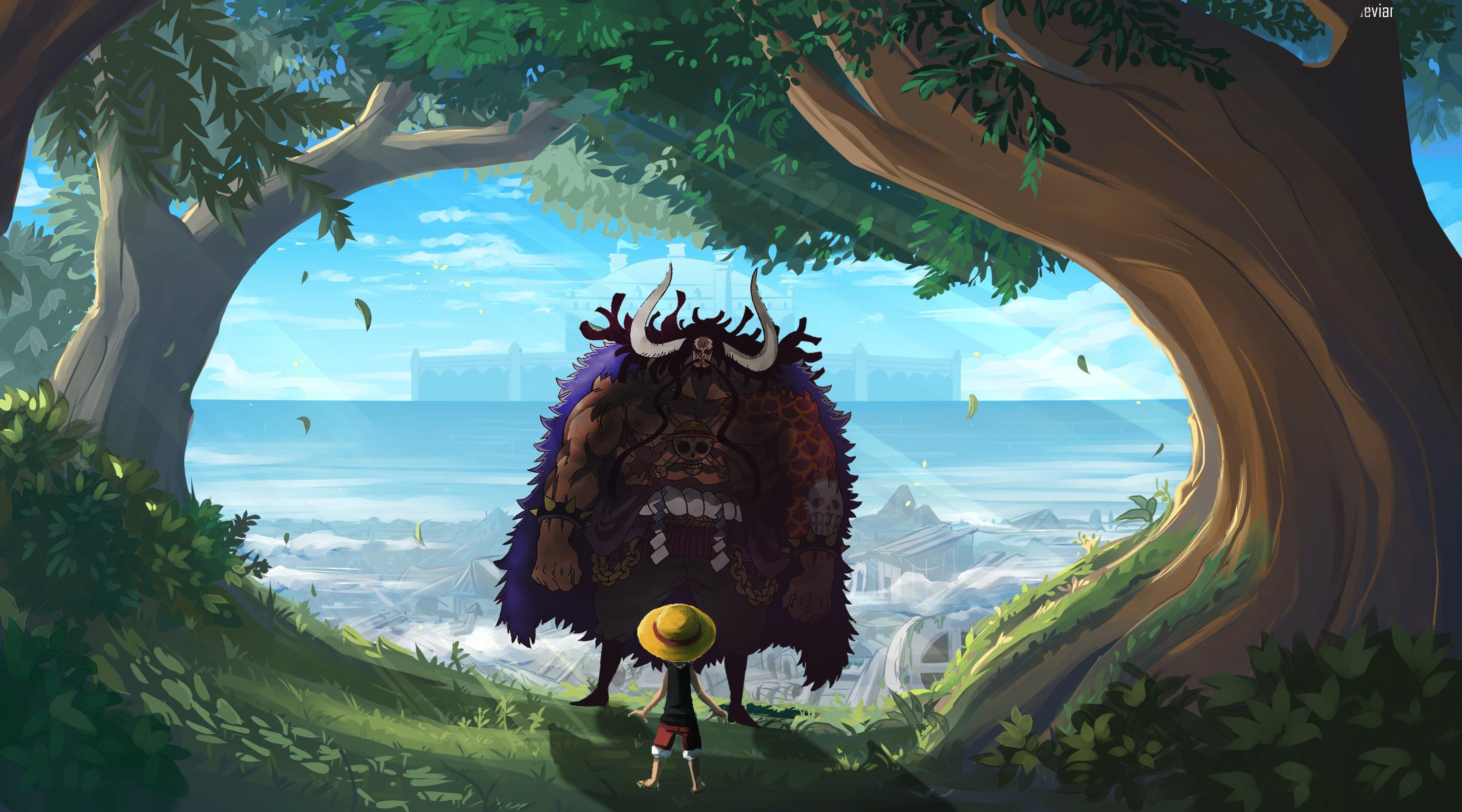 Via mangaku monkey d luffy menahan serangan dari kaido di manga one. Luffy Vs Kaido Wallpapers Top Free Luffy Vs Kaido Backgrounds Wallpaperaccess