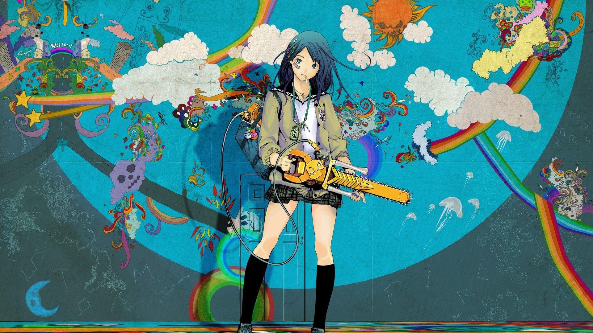 Beautiful Colorful Girls Anime Sakura Wallpaper 4k 16 9 Anime Wallpapers Top Free 4k 16 9 Anime