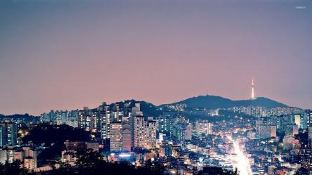 aesthetic korean desktop seoul wallpapers backgrounds